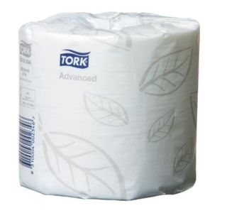 TORK ADVANCED TOILET ROLL 2PLY / ROLL