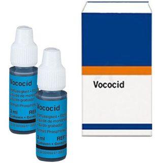 VOCOCID ETCH GEL BLUE 2 X 3ML BOTTLES