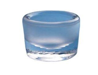 GLASS DAPPEN DISH CLEAR 4.5CM V28