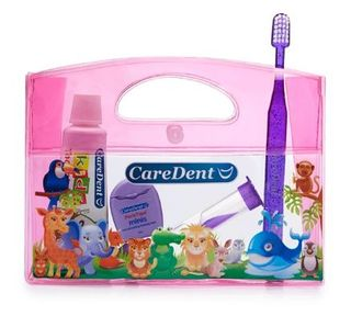 ORAL CARE CHILD KIT ANIMAL PINK /EACH