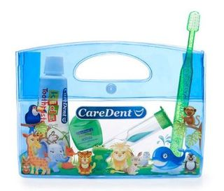 ORAL CARE CHILD KIT ANIMAL BLUE /EACH