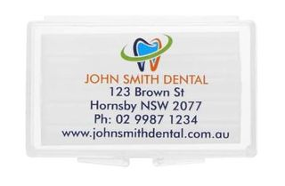 PERSONALISED ORTHO PLAIN WAX EACH