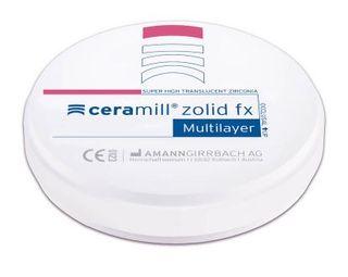 CERAMILL ZOLID FX ML A2/A3 98X20MM ROUND