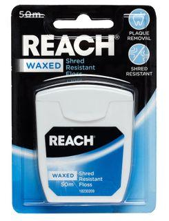 REACH FLOSS WAXED PLAIN 50M /6