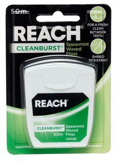 REACH CLEANBURST SPEARMINT FLOSS 50M /6