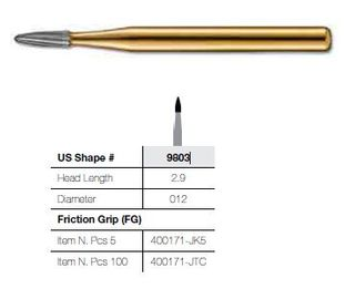 9803-5 FG JET CARBIDE BULLET FINISHING/5