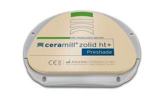 CERAMILL ZOLID HT+ PRESHADE A2 71X16MM