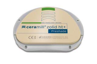 CERAMILL ZOLID HT+ PRESHADE D2 71X20MM