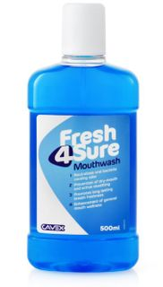 FRESH4SURE MOUTHWASH 500ML