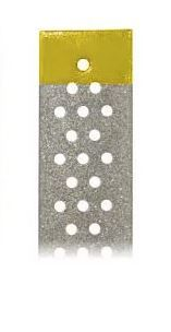 PERF DIAMOND STRIP 4MM SUPERFINE/10