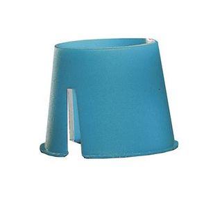 BIODEGRADABLE DAPPEN DISHES WHITE/BLUE PKT 200