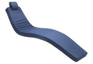 BLUE DENTAL CHAIR PAD AND HEADREST SET