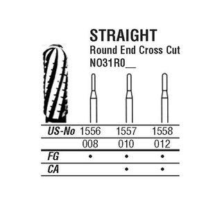 31R-012 1558 CARBIDE FG NORTHB BURS /5