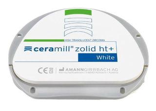 CERAMILL ZOLID HT+ WHITE 71X25MM