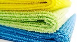 MICROFIBRE CLOTHS GREEN 40X40CM PKT 10