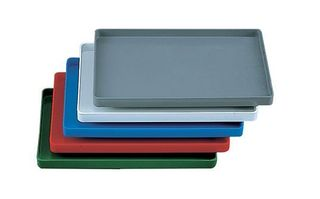 TRAY FOR INSTRUMENTS PLAIN NO RACK BLUE