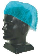 PROTECTIVE HAIR COVER CAP BLUE/100