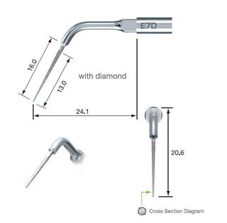 NSK ENDO TIP E7D FOR NSK/SATELEC