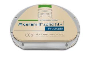 CERAMILL ZOLID HT+ PRESHADE C1 71X20MM