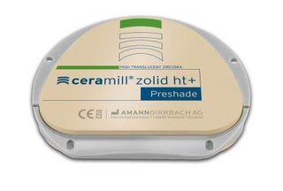 CERAMILL ZOLID HT+ PRESHADE A1 71X16MM