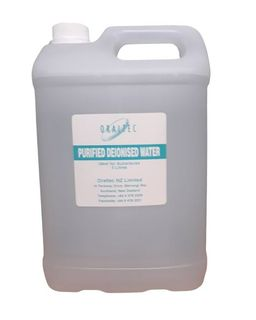 DEIONISED PURIFIED WATER 5 LITRE