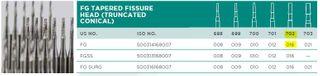 CARBIDE BUR TAP CYL 702 FG 016/5