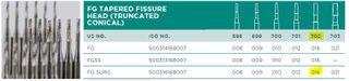 CARBIDE BUR TAP CYL 702 FGOS 016/5