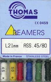 REAMERS 21MM 45-80 ASST