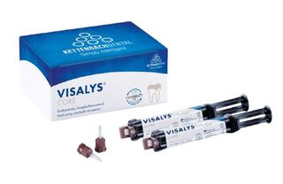 VISALYS CORE SYRINGE WHITE 2 X 5ML