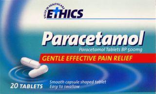 PARACETAMOL CAPLETS PA02152 PKT 20
