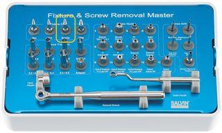 REGULAR SCREW BLUE FOR IMPLANT RESCUE KIT