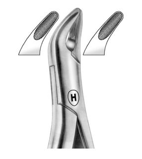 EXTRACTION FORCEPS AMERICAN 62 UPPER