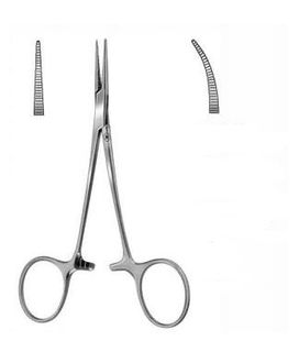ARTERY FORCEPS HALSTED CURVED 140MM
