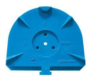 GIROFORM CLASSIC L BLUE BASE PLATES /100