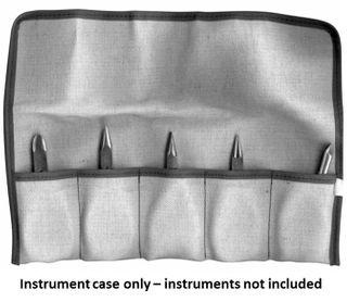 INSTRUMENT CASE FOLD OVER TOP