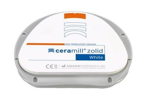CERAMILL ZOLID WHITE 20MM 71L