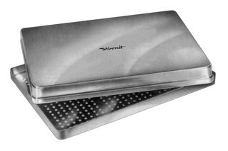 METAL TRAY CASSETTE SOLID BASE SOLID LID