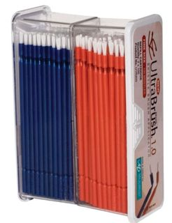 ULTRABRUSH 1.0 REFILL ORANGE/BLUE /200