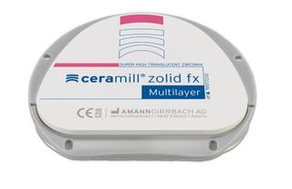 CERAMILL ZOLID FX ML A3.5/A4 16MM 71