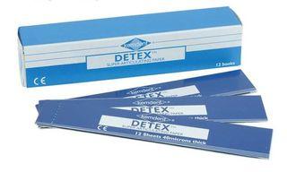ARTICULATING PAPER BLUE DETEX 40UM/12BKS