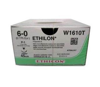 ETHILON SUTURE 6/0 11CM 3/8 PPOINT RC/24