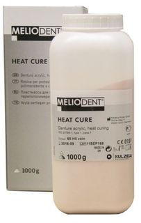 MELIODENT HEAT CURE CLEAR 1KG