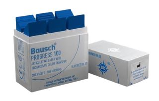 ARTICULATING PAPER STRIPS BLUE 100UM/300