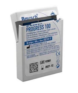 ARTICULATING PAPER STRIPS BLUE 100UM /50