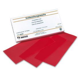 WAX 0.6MM RED PKT OF 15 SHEETS