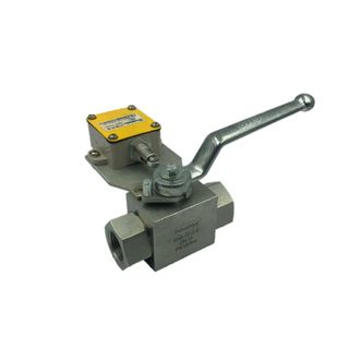 """2way Ball Valve 1/2"""" With Limit Switch (P12)"""