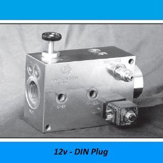 HAMMER VALVES, 150 LITER - 350 BAR, STEEL - 350 BAR, Voltage: 12V DEUTCH Plug
