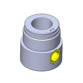 """CYLINDER 2 1/2"""" BORE GLAND S/A FOR 1 1/2"""" ROD"""