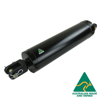"AG CYLINDER 5"" BORE, 24"" STROKE, DUAL PORTS"
