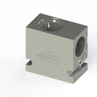 """STEEL HOUSING TO SUIT COMMON C-16-2 WITH 1"""" BSP PORTS"""